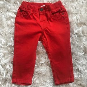 Other - H&M Red Skinny Jeans 4-6months Boys